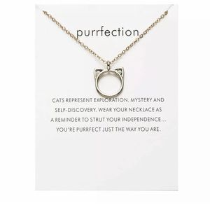 Jewelry - Purrfection Inspirational Clavicle Choker